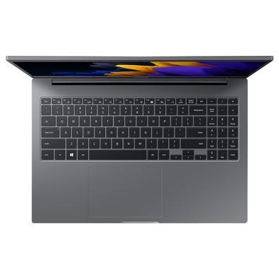 Notebook Samsung Book Intel Core I3-1115G4, 4GB RAM, 1TB HD, 15.6´ 1920 x1080 Full HD, Windows 10 Home, Prata - NP550XDA-KT1BR