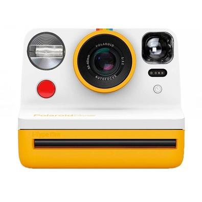 Câmera Fotográfica Polaroid Now com Impressão Instantânea, Branco e Amerelo - 9031