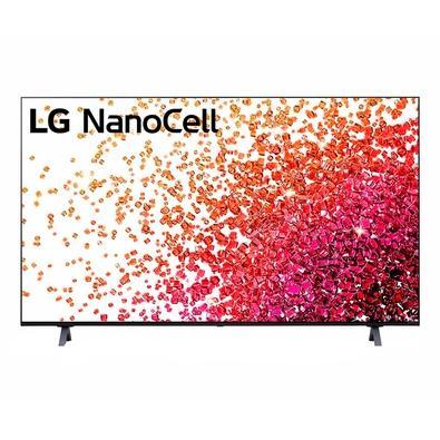 Smart TV LG 50´ 4K NanoCell 50NANO75, 3x HDMI 2.0, Inteligência Artificial, ThinQAI Smart Magic, Google Alexa - 50NANO75SPA