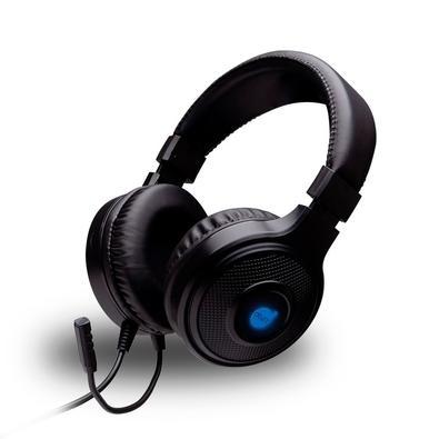 Headset Gamer DAZZ Cobra 2.0, Conexão 3.5mm P2/P3, Compatível com PC/PS4/Xbox One, Preto - 62000024