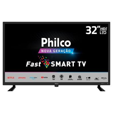 Smart TV Philco 32´ HD LED PTV32D10N5SKH, 2x HDMI, com Dolby Audio, Preto - 99323091