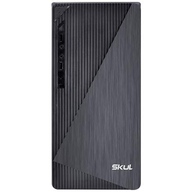 Computador Home Skul H200 Intel Pentium Dual Core G5400, 4GB DDR4, SSD 120GB, Fonte 250W, Linux - 107244