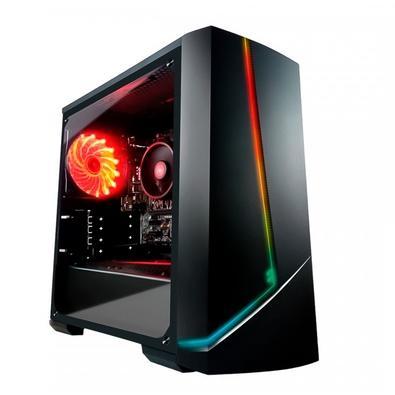PC Gamer G-Fire Ryzen 3 2200G, 8GB (2x4GB), SSD 240GB, RGB, Linux, Preto - HTG-R737