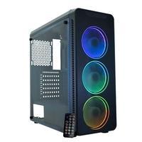PC Gamer NTC Vulcano II, AMD Ryzen 5 2400G, RAM 16GB, SSD 480GB, 500W, Linux - 7167