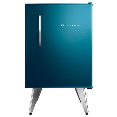 Frigobar Brastemp Retro, 76 Litros, 127V, Azul - BRA08BZANA