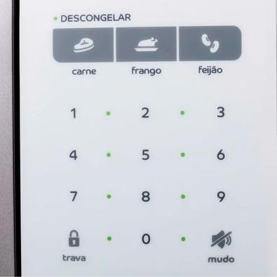 Microondas Consul, 32 Litros, 127V, Painel Digital, Display LED, Branco - CMS45ABANA