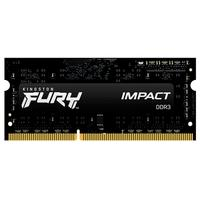 Memória Kingston Fury Impact, 4GB, 1600MHz, DDR3, CL9, Para, Notebook - KF316LS9IB/4