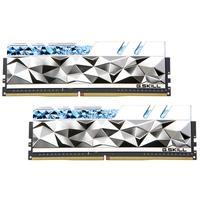 Memória G.Skill Trident Z Royal Elite, RGB, 32GB (2x16GB), 3600MHz, DDR4, CL14, Prata - F4-3600C14D-32GTESA