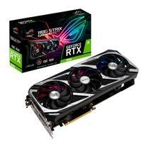 Placa de Vídeo Asus NVIDIA GeForce ROG Strix RTX 3060 O12G V2 Gaming OC Edition, 12GB GDDR6, DLSS, Ray Tracing