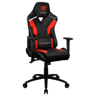 Cadeira Gamer TC3 ThunderX3, Encosto Reclinável, Braço 2D, 125Kg, Preto/Vermelho - 72995