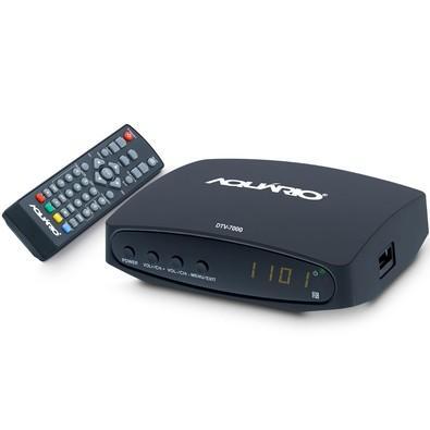 Conversor e Gravador Digital Aquário - DTV-7000