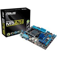 Placa-Mãe ASUS p/ AMD AM3+ mATX M5A78L-M LX/BR, 2xDDR3 VGA, PCIe x16, Porta Paralela e Serial, 6 SATA, Rede Gigabit, Core Unlocker