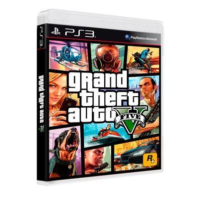 Game GTA V - Grand Theft Auto V PS3
