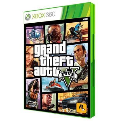 Game GTA V - Grand Theft Auto V Xbox 360