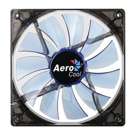 Cooler FAN AeroCool 140x140mm Lightning Blue EN51400