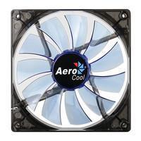 Cooler FAN AeroCool 140x140mm Lightning Blue EN51400