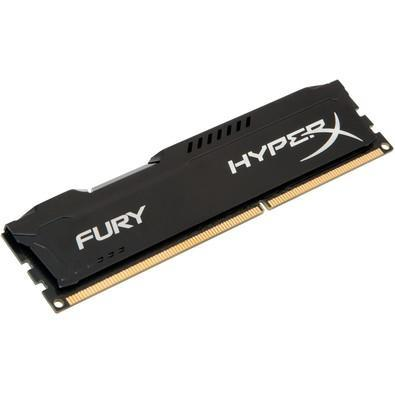 Memória Kingston HyperX FURY 4GB 1866Mhz DDR3 CL10 Black - HX318C10FB/4