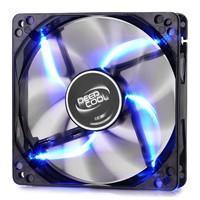 Cooler FAN DeepCool Wind Blade 120 12x12cm Super Silent Big Airflow Blue LED DP-FLED-WB120