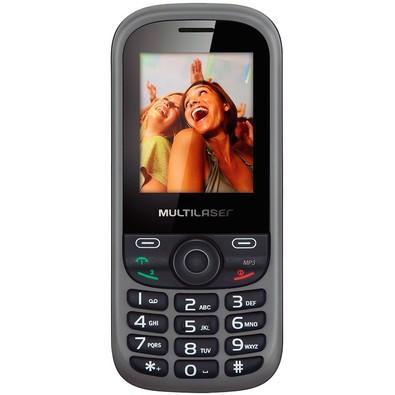 Celular Multilaser Up Dual Chip, C/ Câmera, MP3, Rádio FM, Bluetooth P3292 - Preto