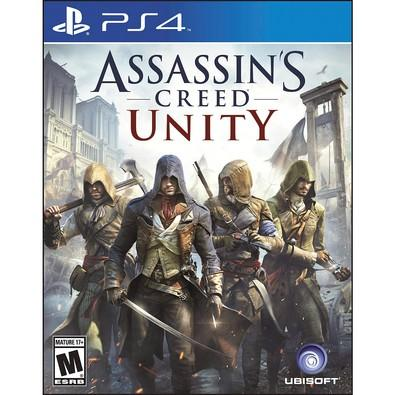 Game Assassins Creed Unity PS4