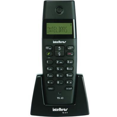Ramal Intelbras para telefone sem fio TS40R Preto