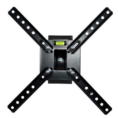Suporte Brasforma Para Tv LCD, LED e plasma 10´ a 55´ Articulado Preto - SBRP130