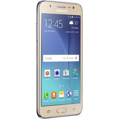 Smartphone Samsung Galaxy J5 Duos, 16GB, 13MP, Tela 5´, Dourado - SM-J500M/DS