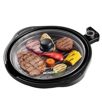 Grill Redondo Smart  273008 G04 PR 220V Mondial