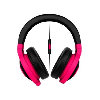 Headphone Gamer Razer Kraken Neon Mobile Red com Microfone - P2
