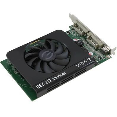 Placa de Vídeo EVGA NVIDIA GeForce GT 730 4GB, DDR3 - 04G-P3-2739-KR
