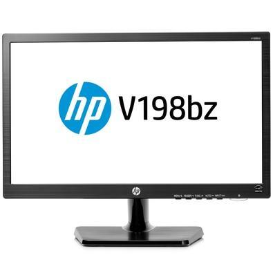 Monitor HP LED 18.5´ Widescreen, VGA/DVI - V198BZ