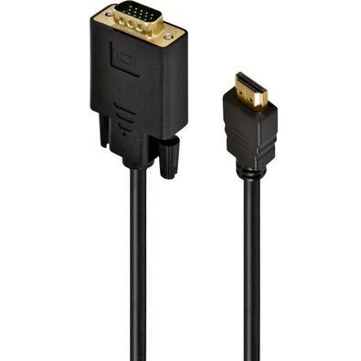 Cabo Vinik HDMI 19 Pinos Macho para VGA 15 Pinos Macho 30cm 24331