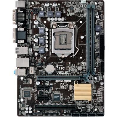 Placa-Mãe Asus H110M-C/BR, Intel LGA 1151, mATX, DDR4