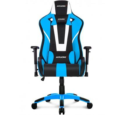 Cadeira Gamer AKRacing Xtra Bigger CP-8, Black White Blue - 10262-1