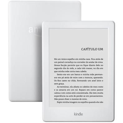 E-Reader Kindle 8ª Geração Wi-Fi com Tela Sensível ao Toque Branco - AO0512