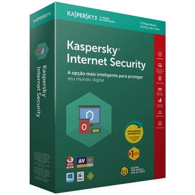 Kaspersky Internet Security 2018 Multidispositivos 3 PCs