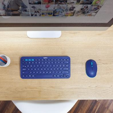 Mouse Logitech M535 Bluetooth Azul 1000DPI - 910-004529