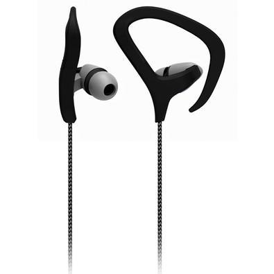 Fone de ouvido Intra-Auricular Multilaser c/ Microfone Preto - PH163