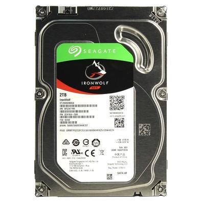 HD Seagate SATA 3,5´ IronWolf NAS 2TB 5400RPM 64MB Cache SATA 6.0Gb/s - ST2000VN004