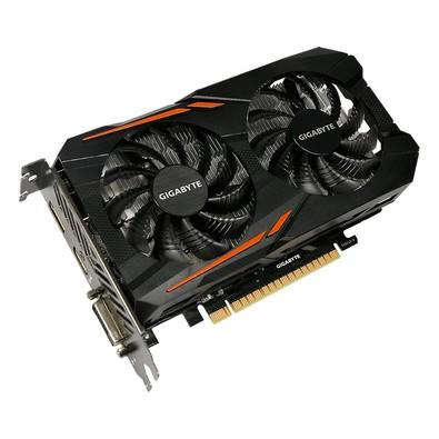 Placa de Vídeo Gigabyte NVIDIA GeForce GTX 1050 Ti OC 4G, GDDR5 - GV-N105TOC-4GD