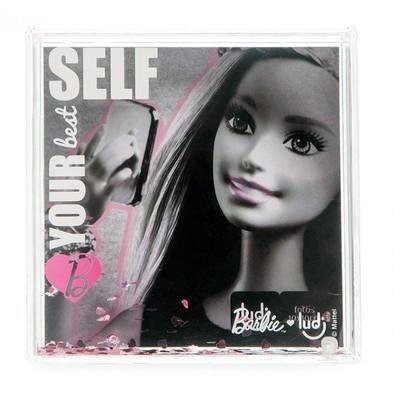 Porta Retrato Ludi com Glitter Barbie Love - LY0306