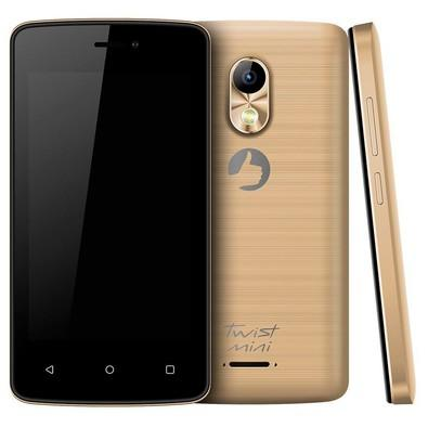 Smartphone Positivo Twist Mini S430, 8GB, 8MP, Tela 4´, Dourado