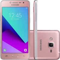 Smartphone Samsung Galaxy J2 Prime TV SM-G532MT Quad Core 1.4Ghz, 8MP e Flash Frontal, 16GB, Tela 5, 4G, Duos, Desbloq - Rosa