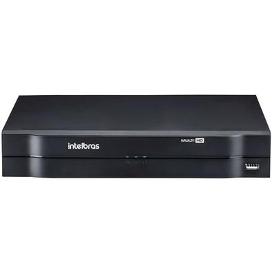 Gravador DVR Stand Alone Intelbras Multi-HD, 04 Canais, HD/Full HD/1080N, Suporta HD até 8TB - MHDX 1004 4580265