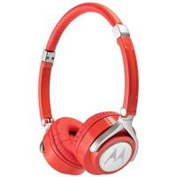 Headphone Motorola Pulse 2 Wired Vermelho e Cinza