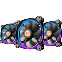 Cooler FAN Thermaltake RIING 14cm Radiator FAN 256 com 3 LED Switch CL-F043-PL14SW-B