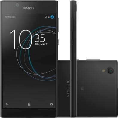 Smartphone Sony Xperia L1, Processador Quad Core, Android 7.0, Tela 5,5´, 13MP, 16GB, Dual Chip, Desbloqueado - Preto