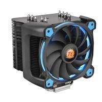 Cooler Para Processador Thermaltake RIING SILENT 12cm AMD/Intel Pro Blue/500 1400RPM  CL-P021-CA12BU-A