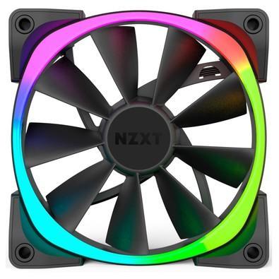 Controlador de LED Hue+ NZXT Dual FAN de 120mm, AER RGB - RF-AR120-C1