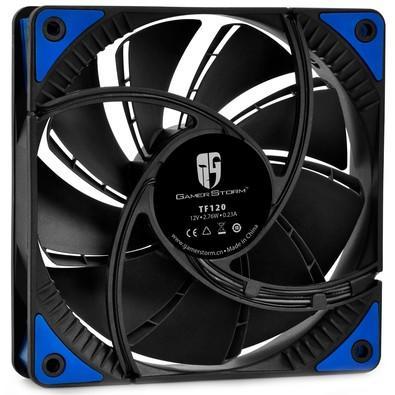 Cooler Fan DeepCool 120x120x26mm TF 120 Black/Blue Led DPGS-FTF-TF120BG